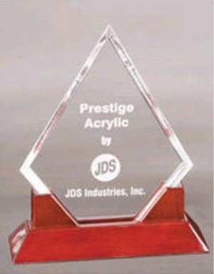 Diamond Acrylic Trophy