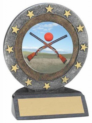 Sporting Clays Resin Trophy