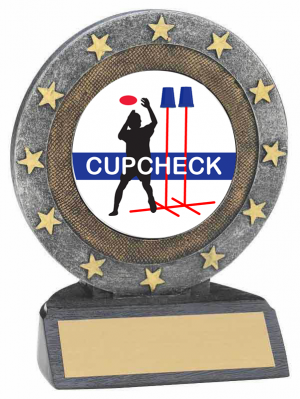 Cupcheck Star Resin Trophy