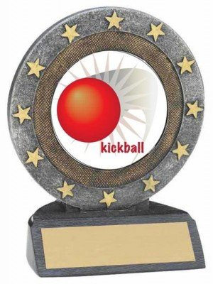 Kickball Resin Trophy