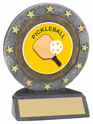 Pickleball Resin Trophy