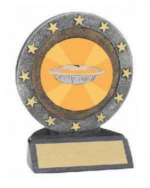Best Thanksgiving Pie Resin Trophy