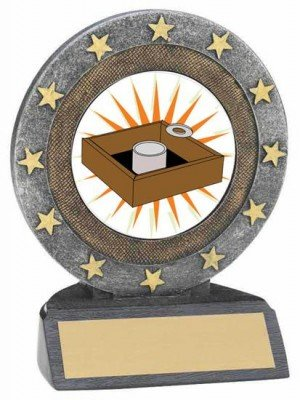 Washer Toss Resin Trophy