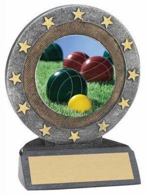 Bocce Ball Resin Trophy