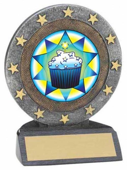 Cupcake Resin Trophy