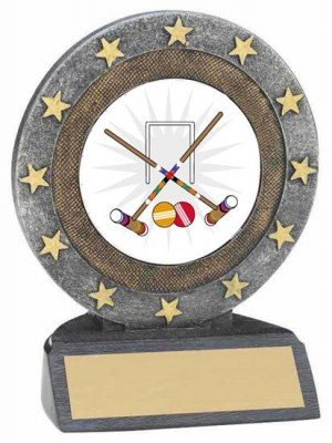 Croquet Resin Trophy