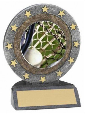 Lacrosse Star Resin Trophy