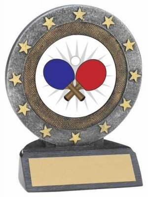 Ping Pong Resin Trophy