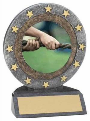 Tug of War Resin Trophy