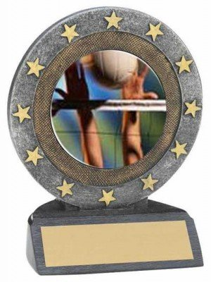 Volleyball Star Resing Trophy