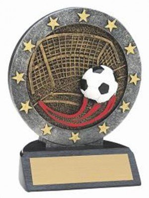 Soccer Resin Figure Trophy