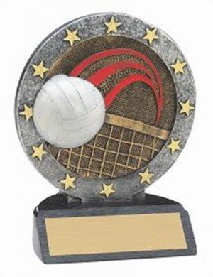 Volleyball Resin Figure Trophy