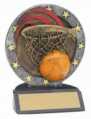 Basketball Resin Figure Trophy