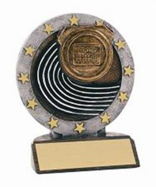 Track Resin Figure Trophy