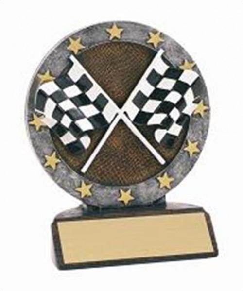 Racing Resin Figure Trophy