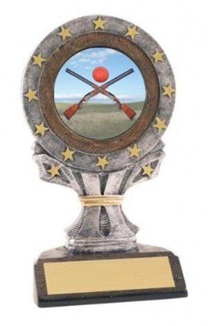 All Star Resin Sporting Clays Trophy