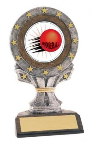 All Star Resin Dodgeball Trophy