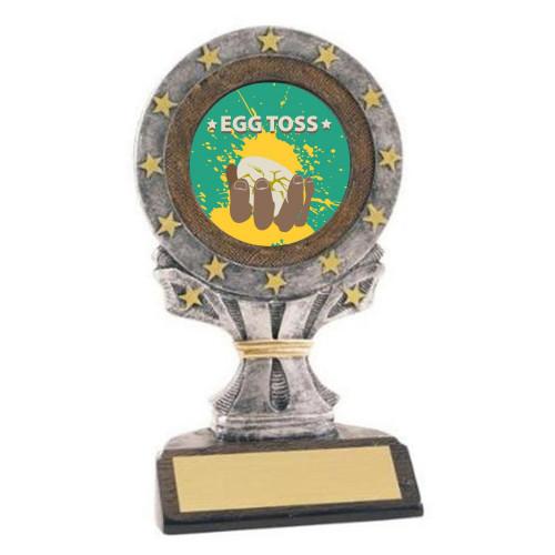 Egg Toss All Star Trophy