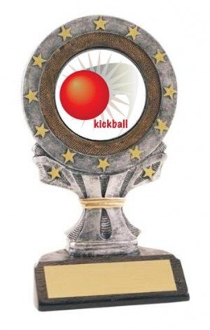 All Star Resin Kickball Trophy