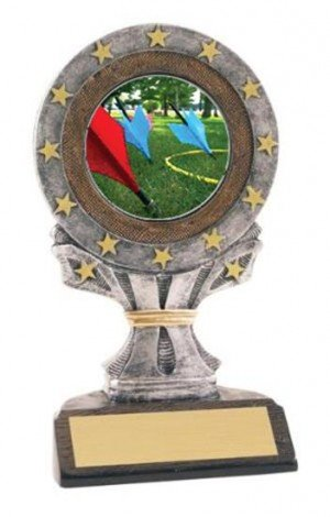 All Star Resin Lawn Dart Trophy