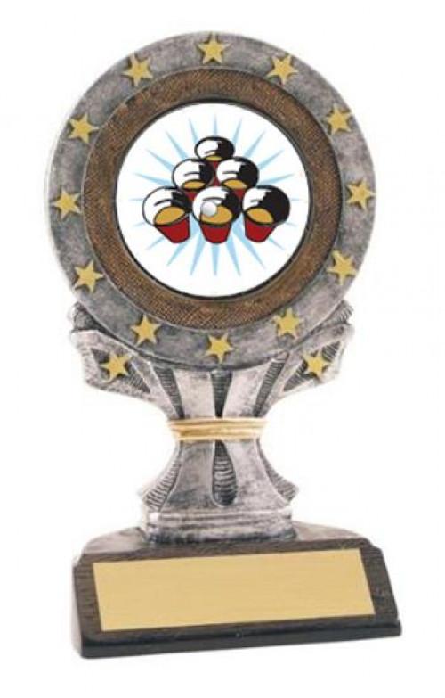 All Star Resin Beer Pong Trophy