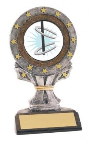 All Star Resin Horseshoe Trophy