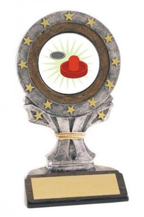 Air Hockey All Star Resin Trophy