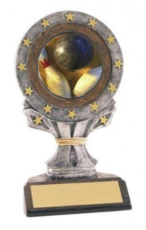 Bowling All Star Resin Trophy