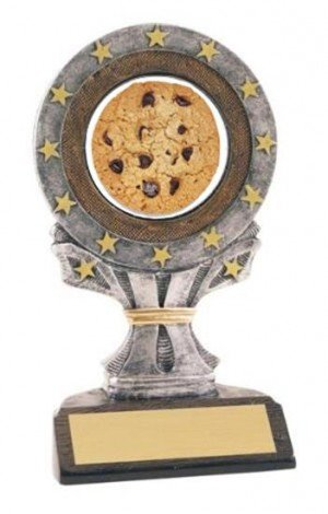 All Star Resin Cookie Bake Off Trophy