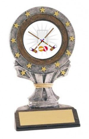 All Star Resin Croquet Trophy
