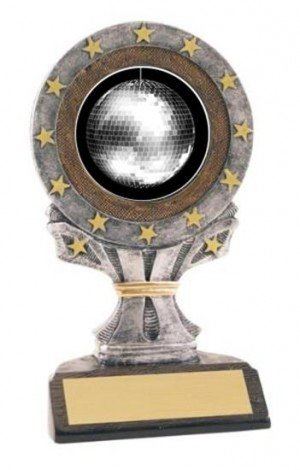 Disco Ball All Star Resin Trophy