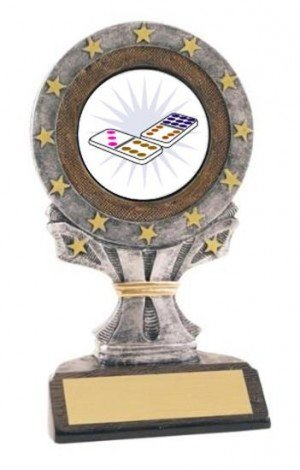 Domino All Star Resin Trophy