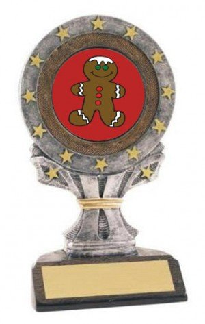 All Star Resin Gingerbread Trophy
