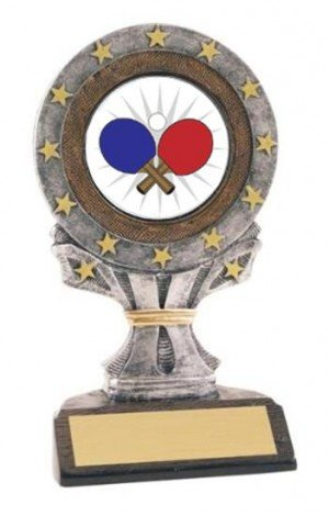 All Star Resin Ping Pong Trophy