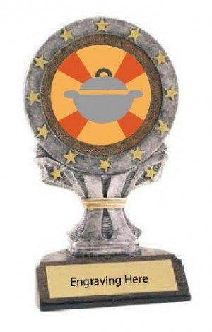 All Star Best Thanksgiving Side Dish Trophy