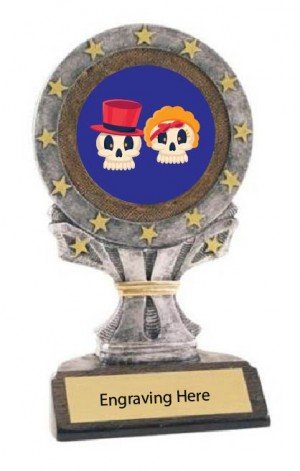 Best Couples Costume All Star Resin Trophy