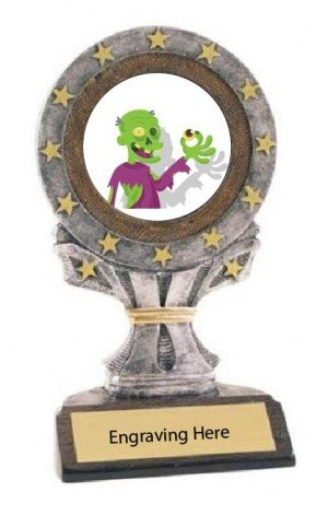 Most Creative Halloween Costume  All Star Resin Trophy