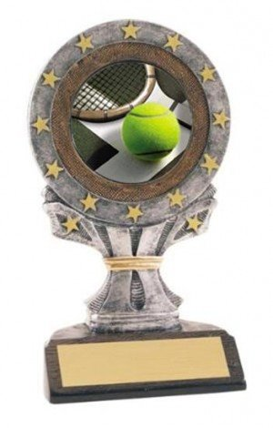 Tennis All Star Resin Trophy