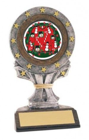 Ugly Christmas Sweater All Star Resin Trophy