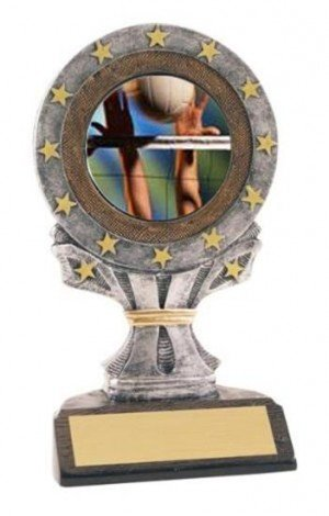 Volleyball All Star Resin Trophy
