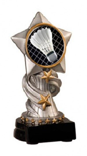 Badminton Encore Resin Trophy
