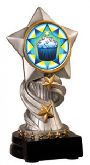 Cupcake Encore Resin Trophy