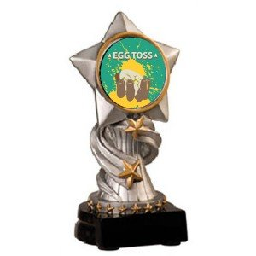 Egg Toss Encore Trophy
