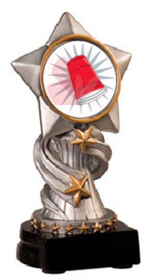 Flip Cup Encore Resin Trophy