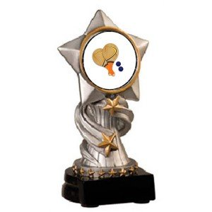 Paddle Ball Encore Resin Trophy