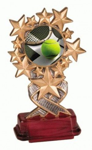 Tennis Starburst Trophy