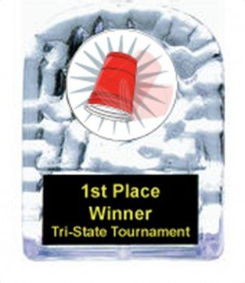 Flip Cup Cracked Ice Award