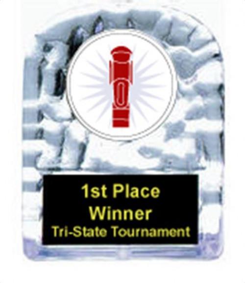 Cracked Ice Foosball Award