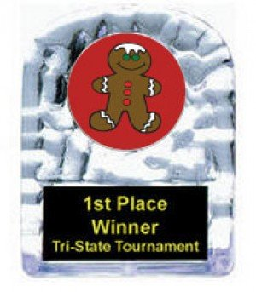 Gingerbread Cracked Ice Award