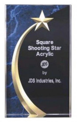 Shooting Star Acrylic Award